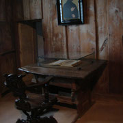 Room where Martin Luther translated Bible into German