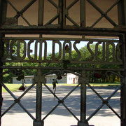 Entrance into Buchenwald Concentration Camp