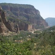 im Nachbartal nach Platanjotisa: Grandcanyon auf der Peleponnes