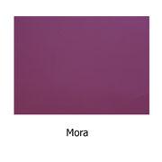 Piel sintética de color mora