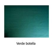 Piel sintética de color verde botella
