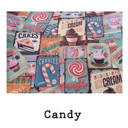 tela resinada Candy
