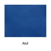 Piel sintética de color azul