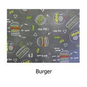 tela resinada Burger