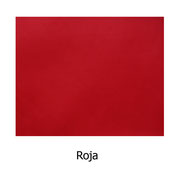Piel sintética de color rojo