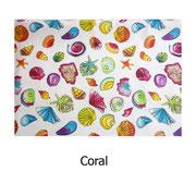 tela resinada Coral