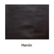 Piel sintética de color marrón