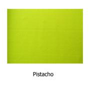 Piel sintética de color pistacho