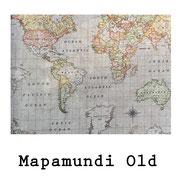 tela resinada Mapamundi Old