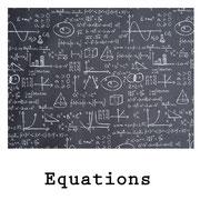 tela resinada Equations
