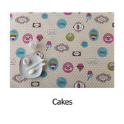 tela resinada Cakes