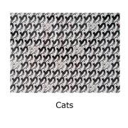 Tela laminada Cats