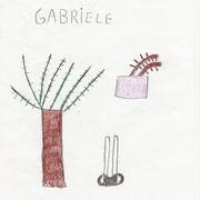 il disegno di Gabriele