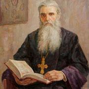 В. Нестерков. ОТЕЦ СИМЕОН. 2008. Х., м. 90х70