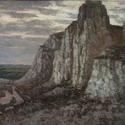 СИМФОНИЯ БЕЛЫХ ГОР, 70х90, х,м.