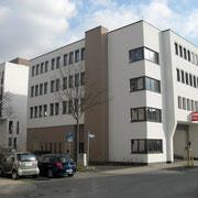 Bürogebäude mit Rewe-Markt und Parkgarage, Kassel-Vorderer Westen