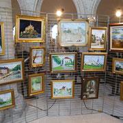Exposition de peintures : les œuvres de Gilles DUPUIS, artiste-peintre de Picquigny.