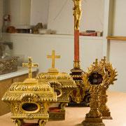 Mobilier liturgique lors des restaurations