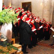 Concert de Noël avec « Chœur en fête », ensemble vocal dirigé par David Dubois.