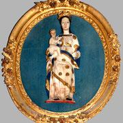 Vierge à l'enfant (albâtre)