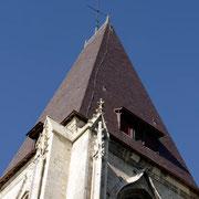 Toiture du clocher refaite à neuf
