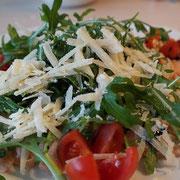liste salades, sandwichs et bruschettas