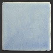 "Glasierte Terracotta, Serie ""AK"", Azul T-9 10x10 cm / 13x13 cm"