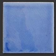 "Glasierte Terracotta, Serie ""AK"", Azul 10x10 cm / 13x13 cm"