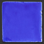 "Glasierte Terracotta, Serie ""AK"", Azul T-8 10x10 cm / 13x13 cm"