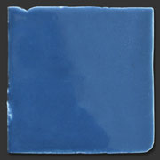 "Glasierte Terracotta, Serie ""AK"", Azafata T-2 10x10 cm / 13x13 cm"
