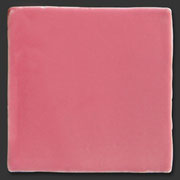 "Glasierte Terracotta, Serie ""AK"", Rosa 10x10 cm / 13x13 cm"
