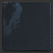 "Glasierte Terracotta, Serie ""AK"", Negro 10x10 cm / 13x13 cm"
