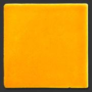 """Glasierte Terracotta, Serie """"AK"""", Naranja 10x10 cm / 13x13 cm"""