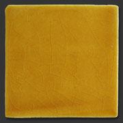 "Glasierte Terracotta, Serie ""AK"", Amarillo Miel 10x10 cm / 13x13 cm"