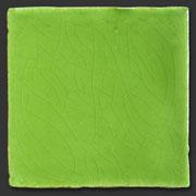 """Glasierte Terracotta, Serie """"AK"""", Verde T-5 10x10 cm / 13x13 cm"""