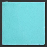 "Glasierte Terracotta, Serie ""AK"", Verde Mar 10x10 cm / 13x13 cm"