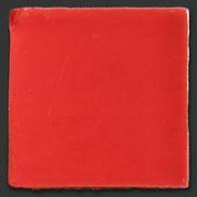 """Glasierte Terracotta, Serie """"AK"""", Rojo 10x10 cm / 13x13 cm"""