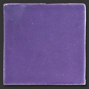 "Glasierte Terracotta, Serie ""AK"", Lila 10x10 cm / 13x13 cm"