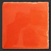 """Glasierte Terracotta, Serie """"AK"""", Naranja T-5 10x10 cm / 13x13 cm"""