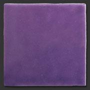 """Glasierte Terracotta, Serie """"AK"""", Morado 10x10 cm / 13x13 cm"""