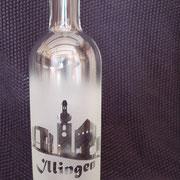 Illingen mit Illipse, Kirche und Burg