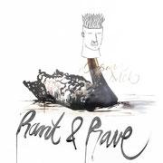 Cover für das DJ Duo Rant&Rave aus München