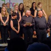 Ehrung der Chorleiterin des Kinder- und Jugendchores Sonja Wißmüller