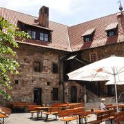 Der Innenhof der Wachsenburg