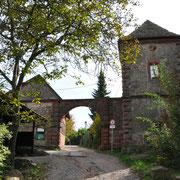 Der Eingang zur Kropsburg