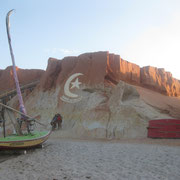 Canao Quebrada - rote Klippen