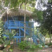 unsere Unterkunft in Sao Thomè