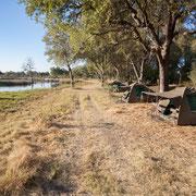 Umgebung Komfort-Camping Botswana