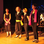 La petite fugue, Dorothée, Laure, Elisabeth, Laurence