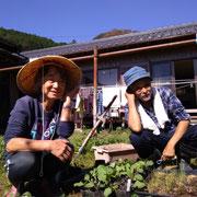 「晴れたら農園」の斎藤さん木村さん
